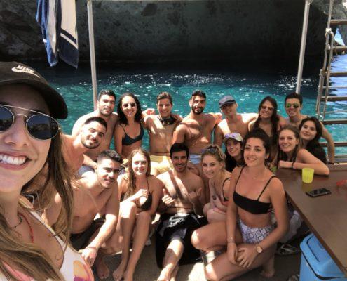 Greece Tour - Enjoying the son
